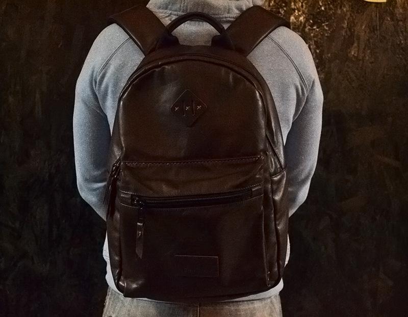 42f00f56dbe2 Купить Кожаный рюкзак ручной работы, коричнево-красный / Онлайн магазин