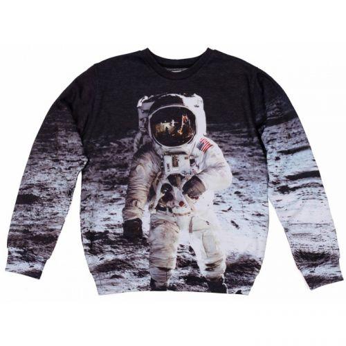 """Мужской свитшот с рисунком """"Astronaut"""" FUSION"""