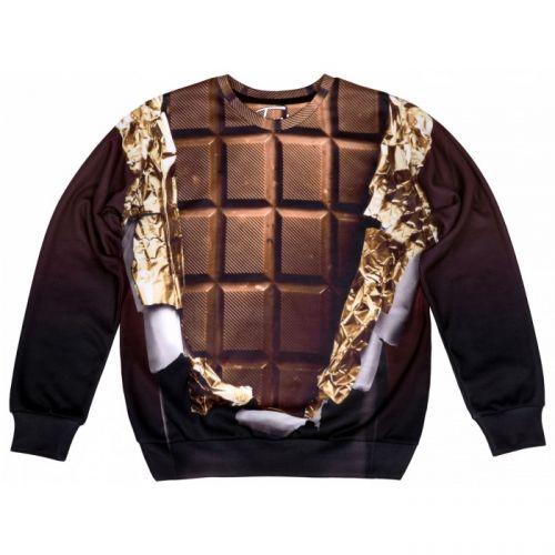 "Мужской свитшот с рисунком ""Chocolate"" FUSION"