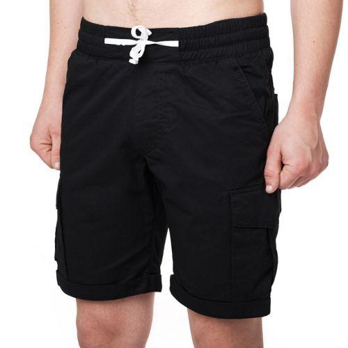 Черные мужские шорты CORSAR CARGO BLACK