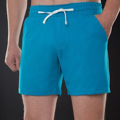 Синие мужские трикотажные шорты CORSAR