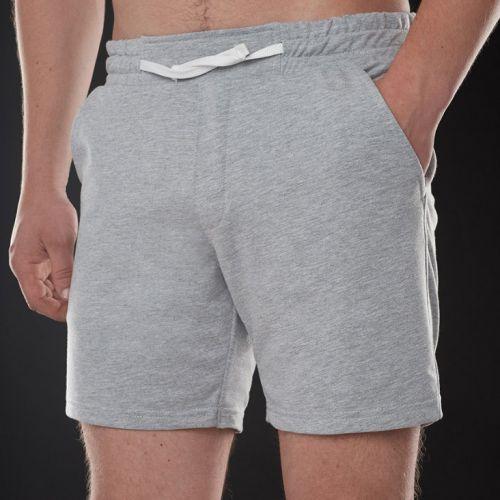 Серые мужские трикотажные шорты CORSAR