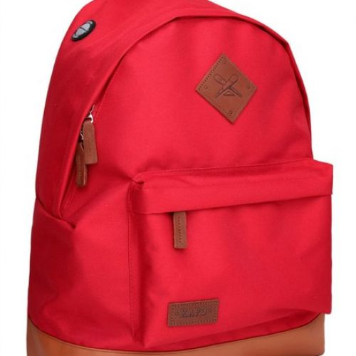 Красный рюкзак ХА РЭ