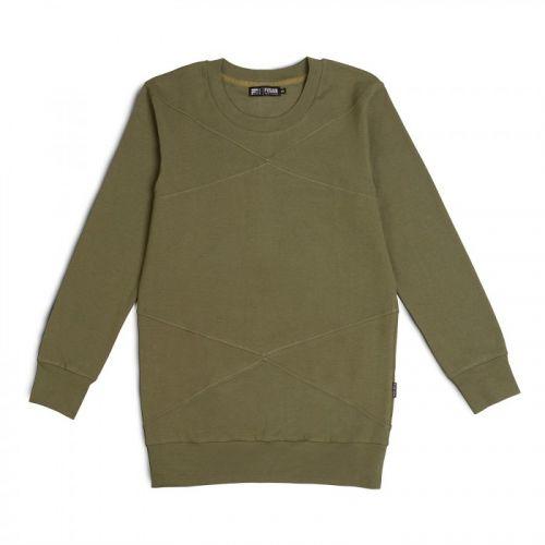 Мужской темно-зеленый свитшот FUSION