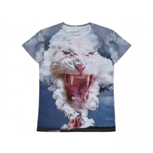 """Мужская футболка с рисунком """"VOLCANO TIGER"""" FUSION"""