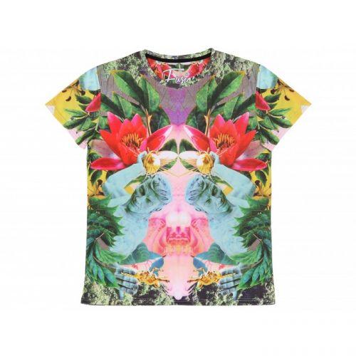"""Женская футболка с рисунком """"TROPIC TRASH"""" FUSION"""