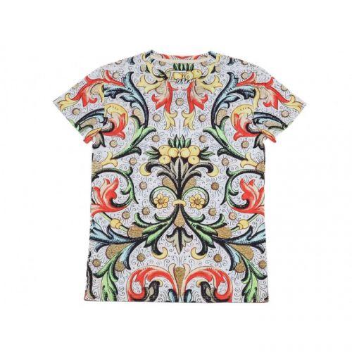 """Разноцветная мужская футболка с рисунком """"LEMON TREE"""" FUSION"""