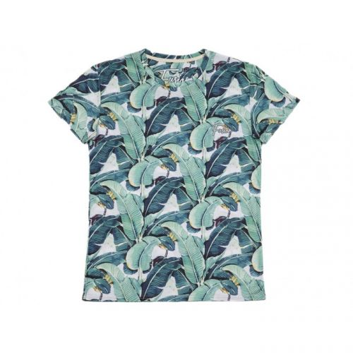 "Мужская футболка ""TROPIC LEAVES"" FUSION"