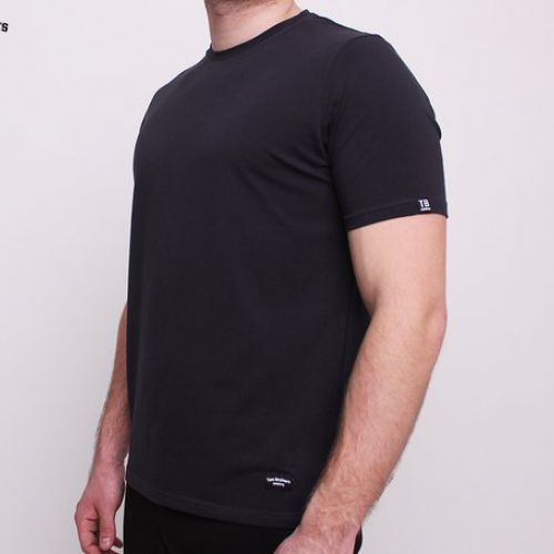 Черная мужская футболка Two Brothers