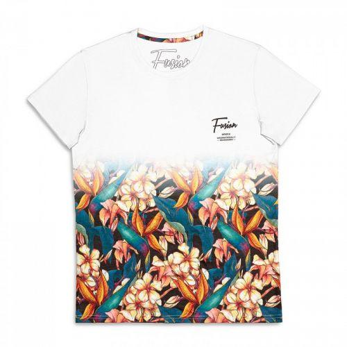 """Разноцветная мужская футболка """"BIRD OF PARADISE"""" FUSION"""