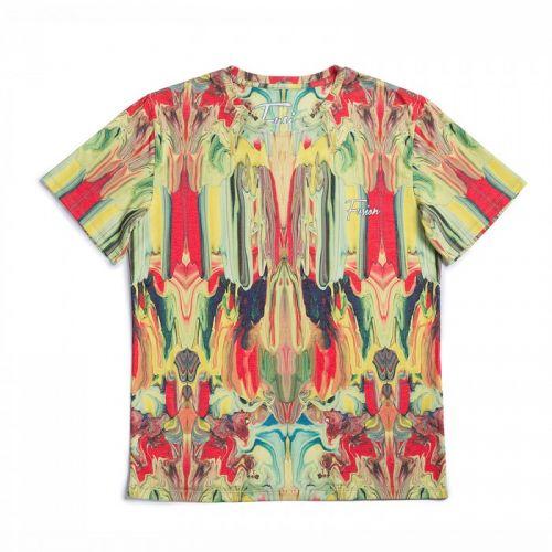 "Разноцветная мужская футболка ""TRIPPY"" FUSION"