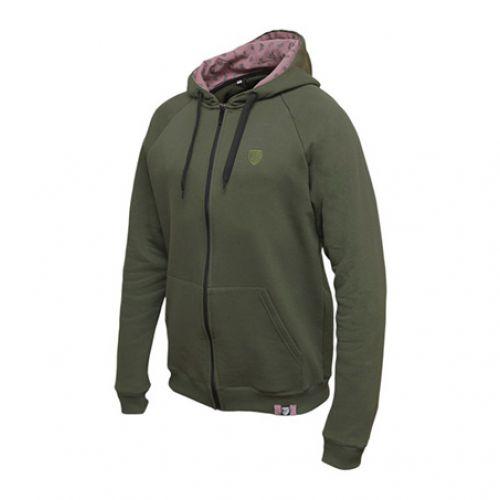 Темно-зеленый мужской худи POGROM