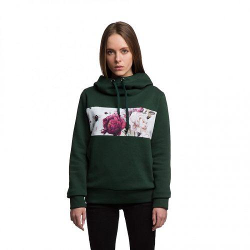 Стильный женский свитер худи с капюшоном FLORA от украинского бренда Fusion