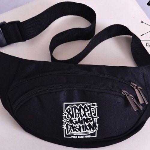 Поясная сумка MILK BLACK