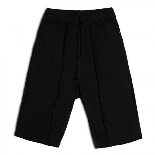 Стильные мужские шорты чёрного цвета MERIDIAN от украинского бренда FUSION