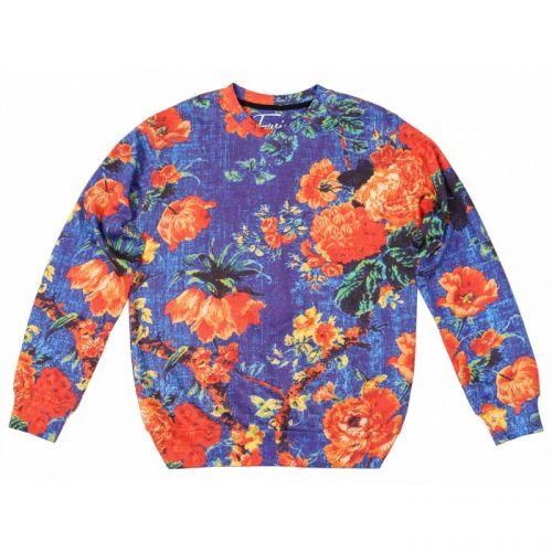 """Женский свитшот с рисунком """"Orange Bloom"""" FUSION"""