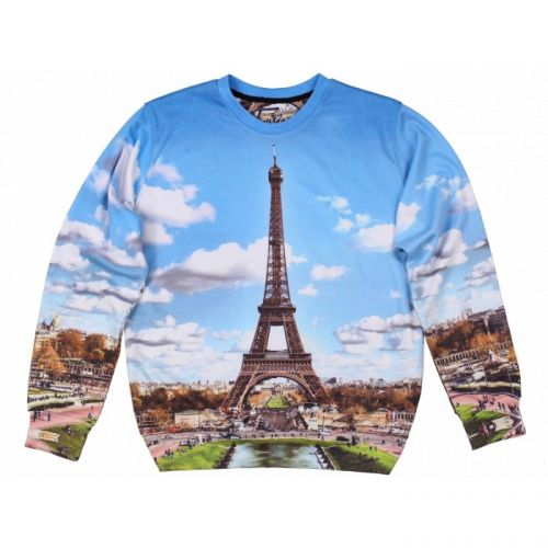 """Женский свитшот с рисунком """"Paris"""" FUSION"""