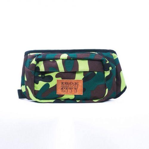 Камуфляжная поясная сумка IRON CITY
