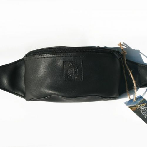 Черная поясная сумка UGLY COOL