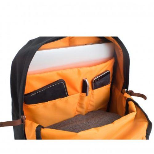 Стильный синий рюкзак Бронкс для города и для путешествий, от украинского производителя GIN