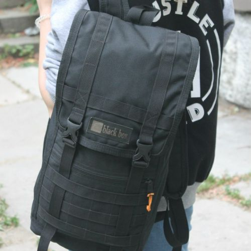 Черный рюкзак BLACK BOX