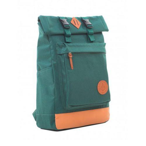 Стильный зелёный рюкзак для города и для путешествий от украинского производителя GIN