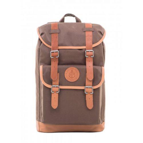 Купить коричневый рюкзак для путешествий / городской GIN ВЕСПЕР