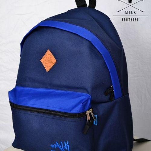 Темно-синий рюкзак MILK