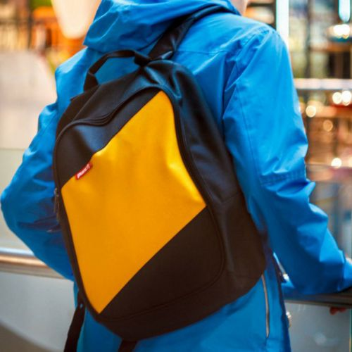 Черно-желтый рюкзак PUNCH