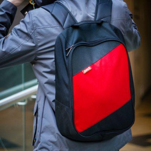 Черно-красный рюкзак PUNCH