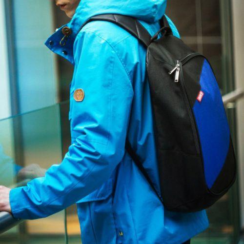 Черно-синий рюкзак PUNCH