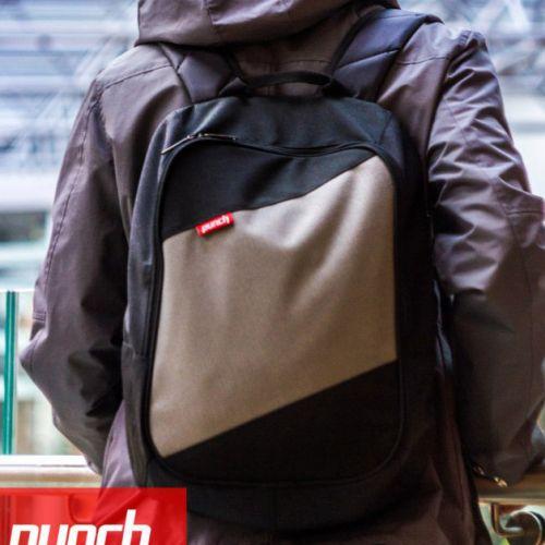 Черно-серый рюкзак PUNCH