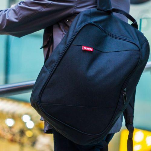 Черный рюкзак PUNCH