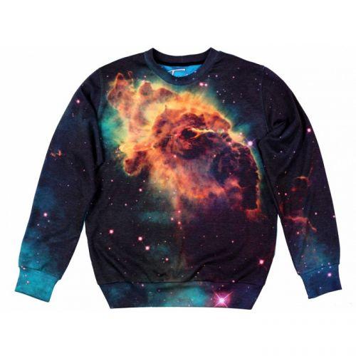 "Мужской свитшот с рисунком ""Cosmic Nebula"" FUSION"