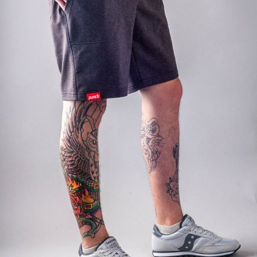 Темно-серые мужские шорты PUNCH