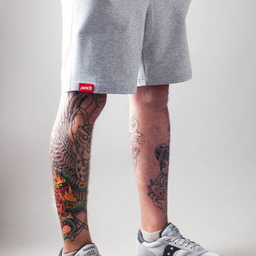 Светло-серые мужские шорты PUNCH