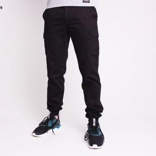 Черные мужские штаны TWO BROTHERS КАРГО