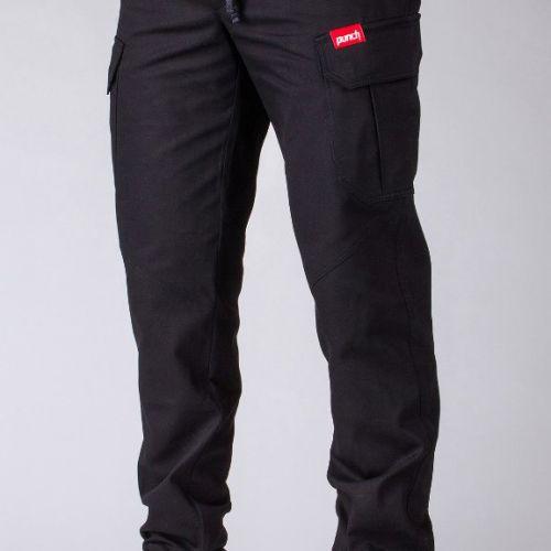 Черные мужские штаны PUNCH - CARGO RUSH