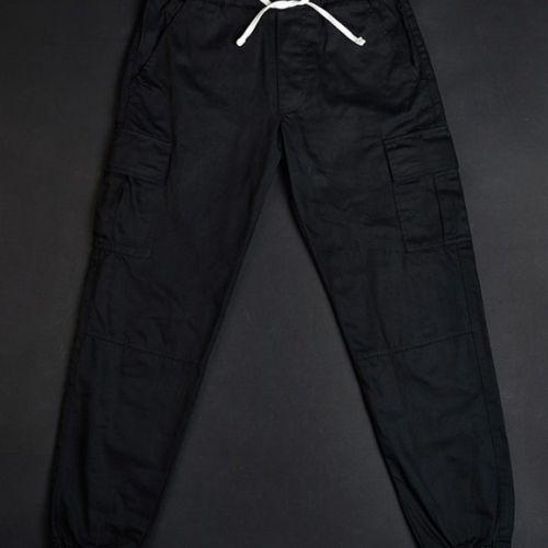 Черные мужские брюки CORSAR CARGO