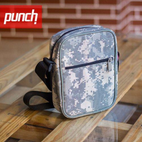 Светло-серая камуфляжная сумка через плечо PUNCH