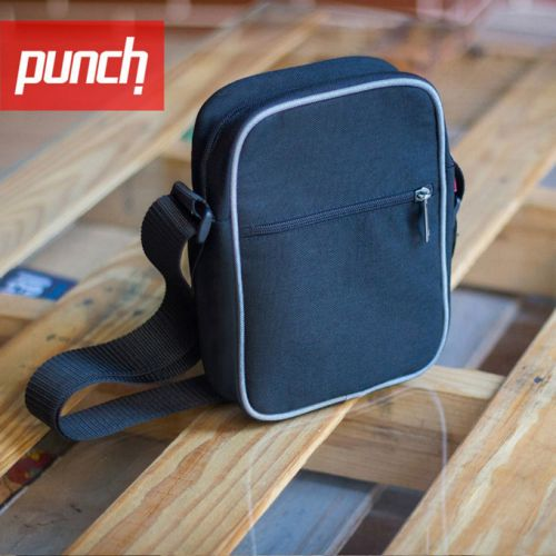 Темно-синяя сумка через плечо PUNCH