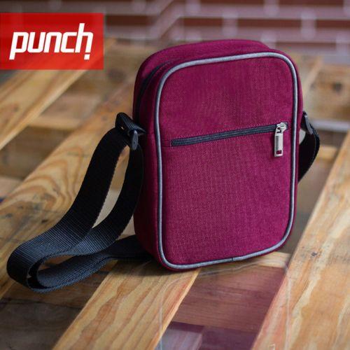 Розовая сумка через плечо PUNCH