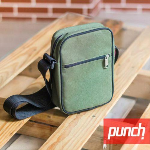 Темно-зеленая сумка через плечо PUNCH