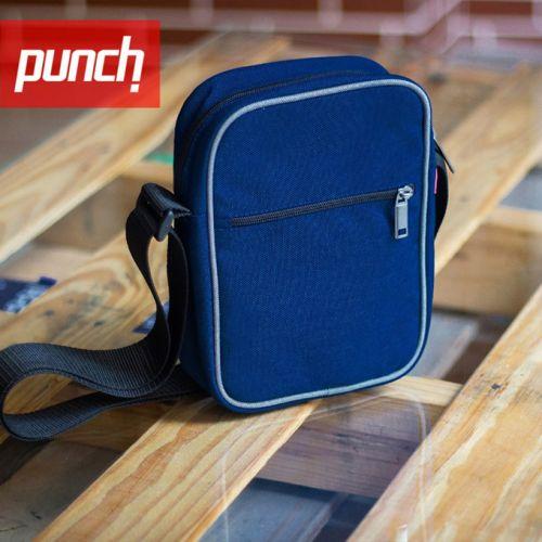 Синяя сумка через плечо PUNCH