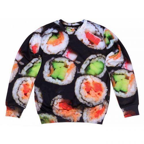 """Мужской свитшот с рисунком """"Sushi"""" FUSION"""