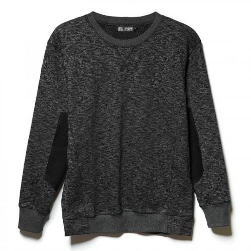 Стильный серый мужской свитшот HEAVY FOG от FUSION
