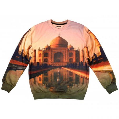 """Женский свитшот с рисунком """"Taj Mahal"""" FUSION"""