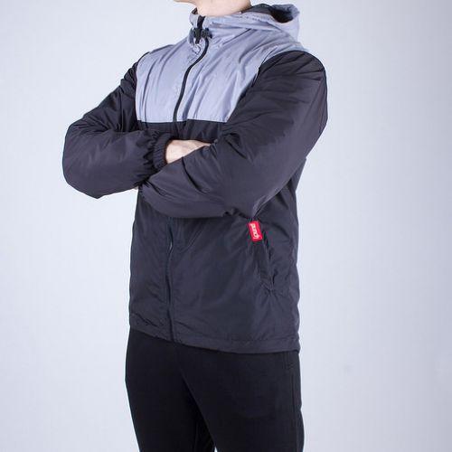 Черно-серая мужская ветровка PUNCH STORM BLACK&GREY